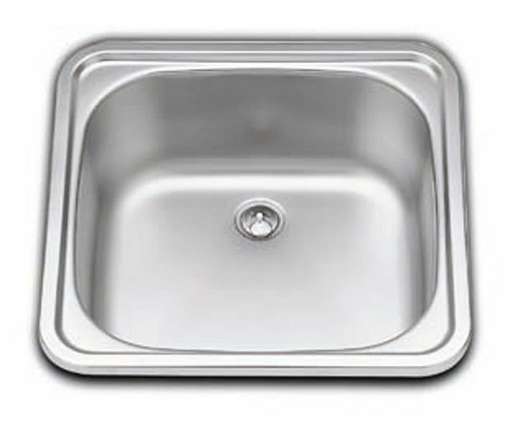Boat, Caravan, Camper, square sink stainless steel 380mm x 380mm  SMEV 932  # Wasbak Compact_073825