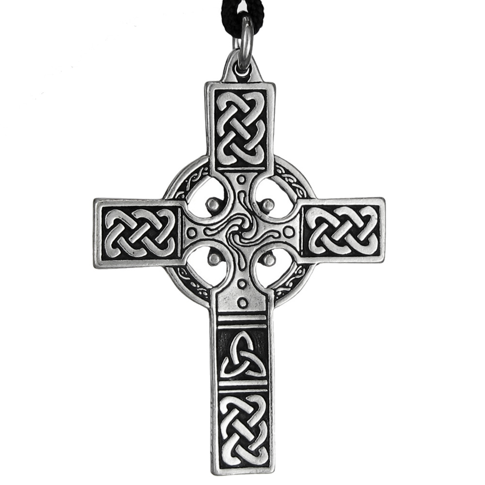 small cross celtic knotwork jewelry necklace knot pendant. Black Bedroom Furniture Sets. Home Design Ideas