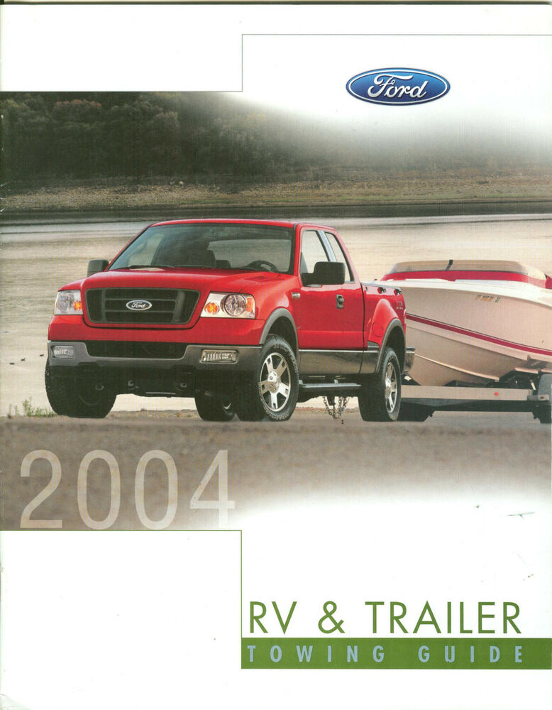 2004 Ford Rv Amp Trailer Towing Guide Dealer Brochure Ebay