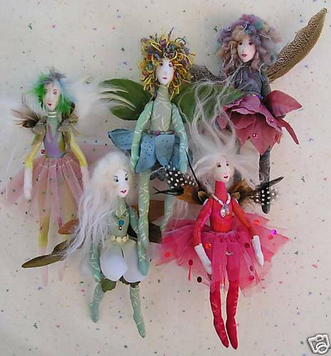 Cloth Dolls From  S And  S