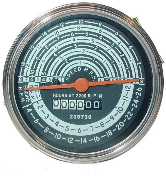 Hour Meter Operation : Allis chalmers new d tachometer operation meter