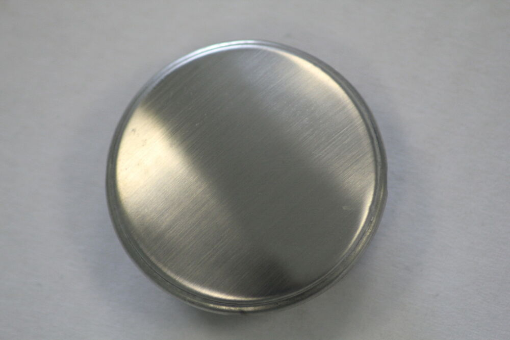 WATER WORKS STAINLESS STEEL TAP HOLE COVER 35MM