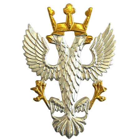 img-OFFICIAL Mercian Regiment Officers Cap Badge ( Infantry Eagle - Shank and Pin