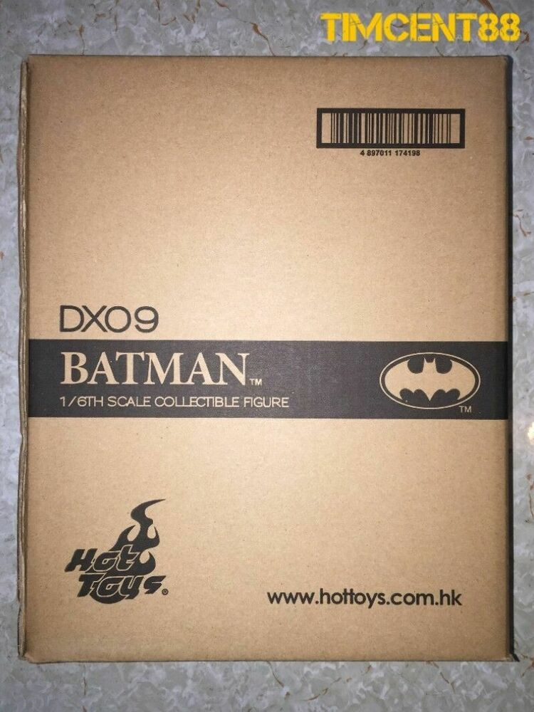 Hot Toys Batman 1989 DX09 1/6 Figure In Stock DX 09 ...