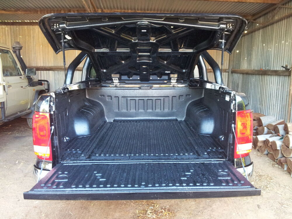 Volkswagen amarok ute liner tub liner vw ebay for Bathtub covers liners