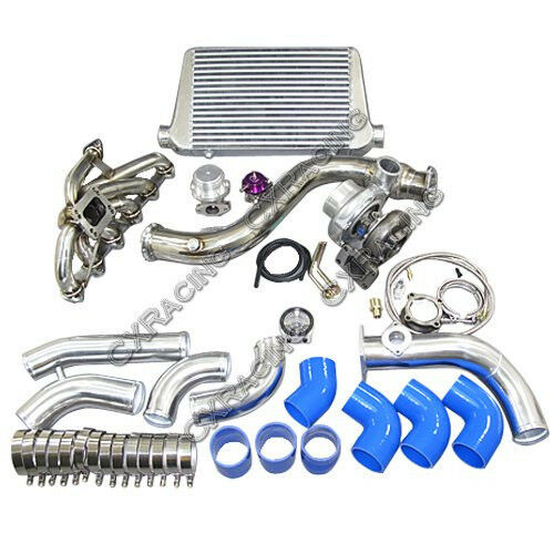 Supercharger Kits For Bmw 335i: CXRacing Turbo Intercooler Piping Downpipe Kit For 84-91