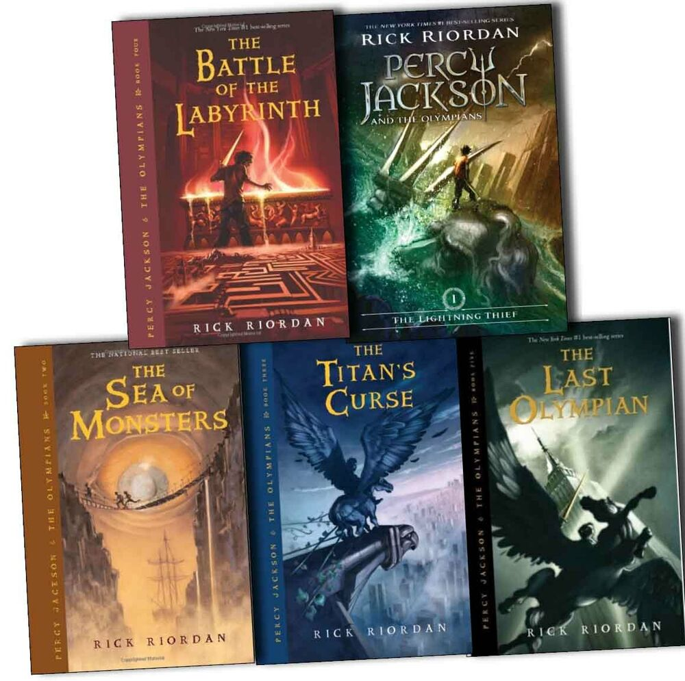 What is the 4 book of percy jackson