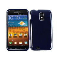 Navy Blue Hard Case Protector Cover For Samsung Galaxy S II Epic Touch 4G D710
