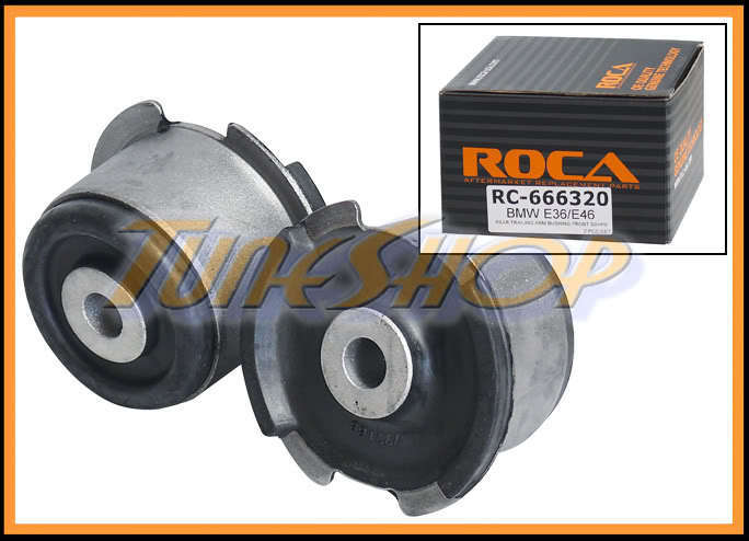 Roca Bmw E36 E46 Rear L Amp R Lower Trailing Arm Front Bushing
