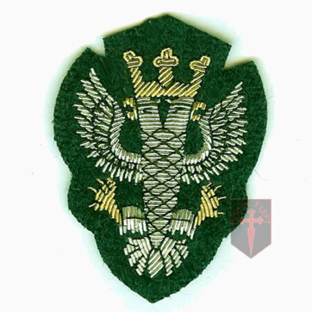 img-Official Mercian Regiment Embroided Officers Cap Badge ( New Infantry