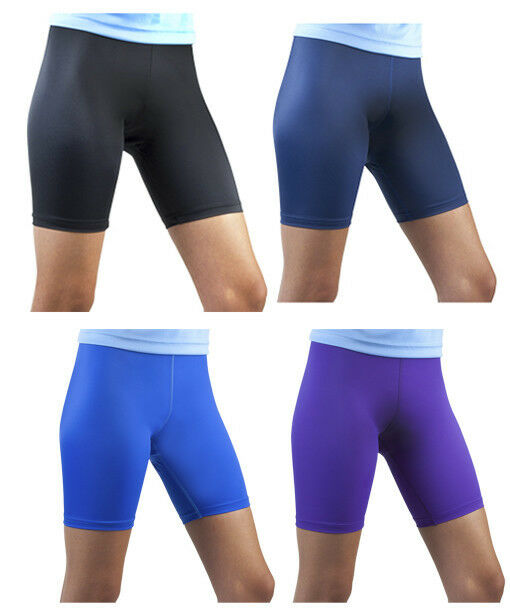 7 Women's Running Shorts for Cool, Comfy Runs. Run like the wind for one, five, or all miles! Nike Women's Dry Tempo 3-Inch Running Short from $10 BUY NOW but it won't restrict your performance — the poly-spandex blend is both lightweight and stretchy. In addition, a wide elastic waistband sits flat on your skin and stays right.