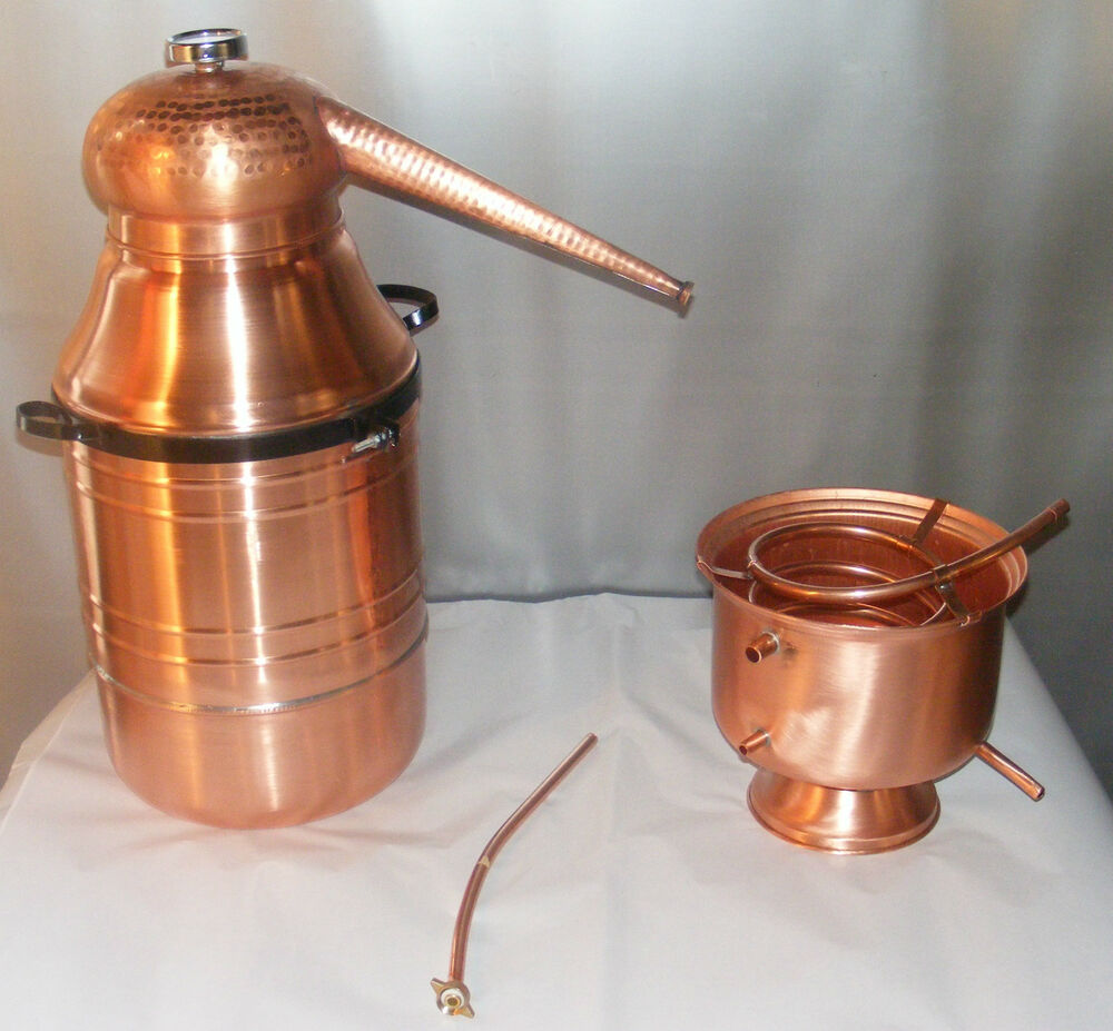 how to make your own copper moonshine still