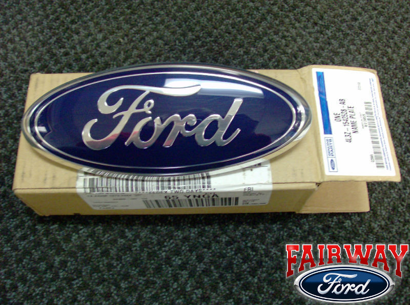 04 05 06 07 08 F-150 F150 OEM Genuine Ford Parts Tailgate Emblem NEW FORD Oval | eBay