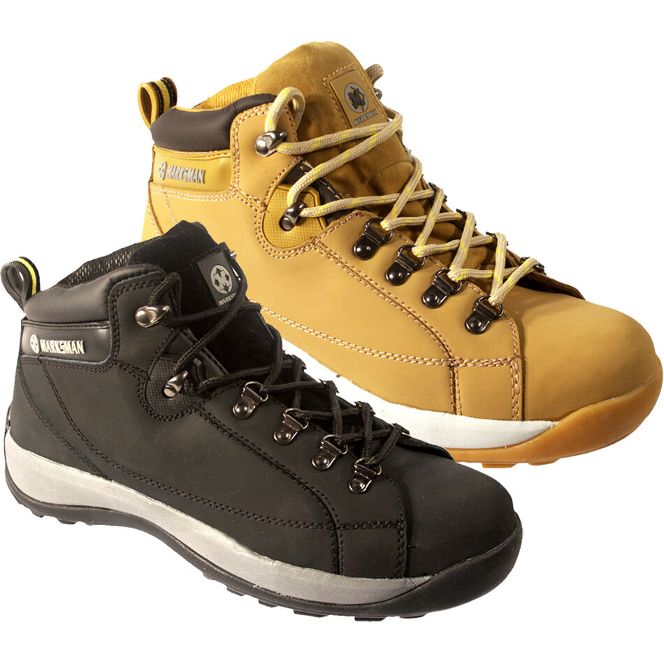**MEN SAFETY WORK STEEL TOE CAP SHOES TRAINERS BOOT ANKLE SIZE 6-12UK LADIES NEW | EBay