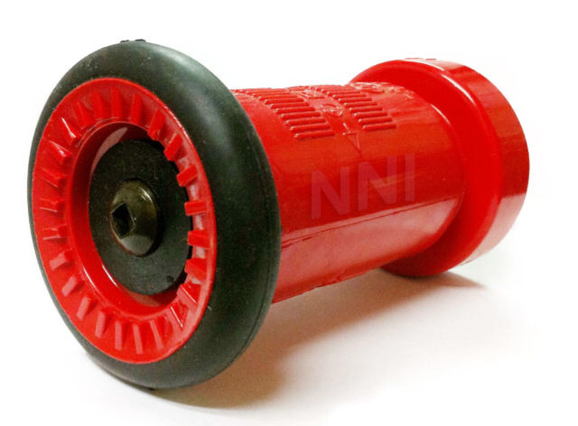 Quot nst nh fire hose nozzle gpm red polycarbonate ebay