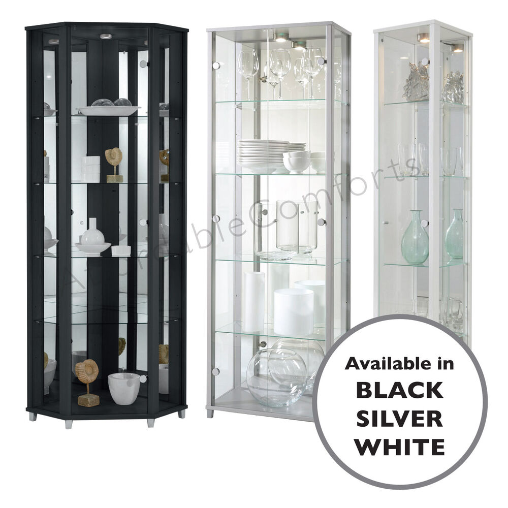Glass Corner Display Cabinet Ikea