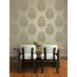 Damask Wall Decal, Damask Decal, Floral Wall Decal, Nursery Wall Decals