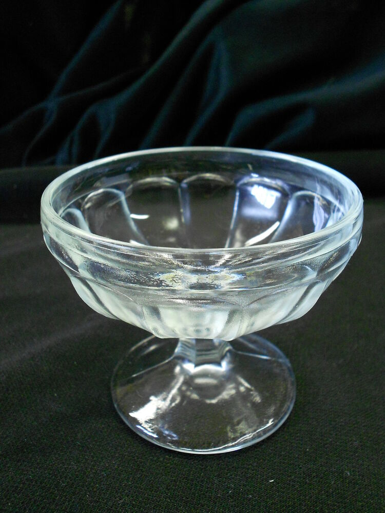 Clear Glass Dessert Dishes
