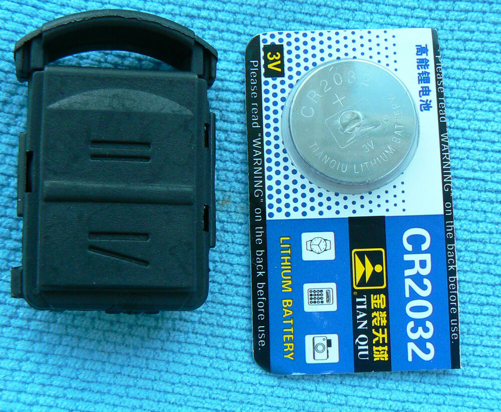 vauxhall 2 button key fob case corsa astra battery repair kit refurbish ebay. Black Bedroom Furniture Sets. Home Design Ideas