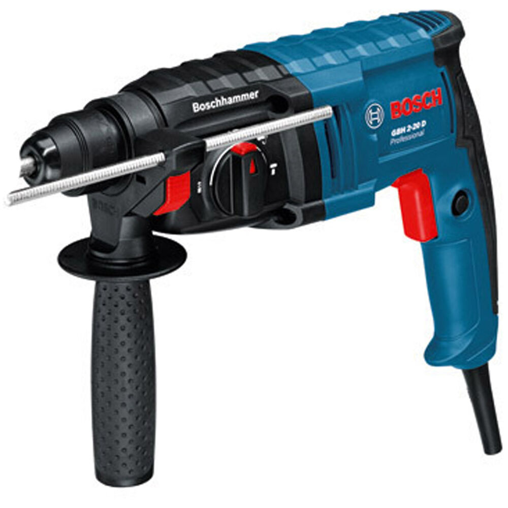 bosch gbh 2 20 d sds pro rotary hammer drill power tool 2kg gbh2 20d 240v ebay. Black Bedroom Furniture Sets. Home Design Ideas