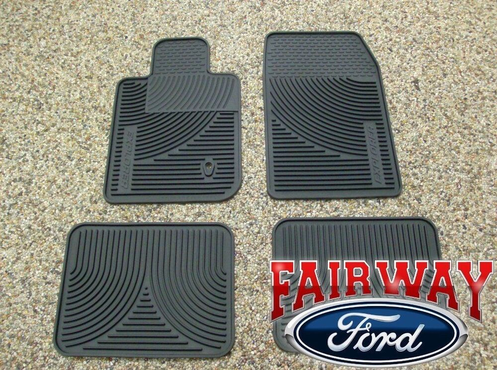 06 07 08 09 10 Explorer Oem Genuine Ford Rubber All