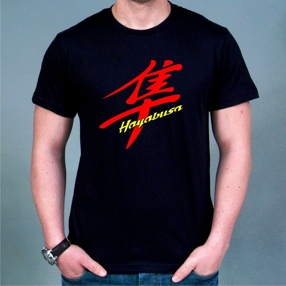 suzuki hayabusa men 39 s t shirt all sz s xxxl 1300 gsxr ebay. Black Bedroom Furniture Sets. Home Design Ideas