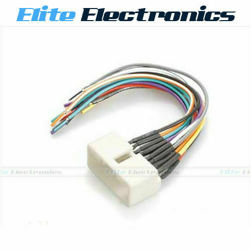 wiring harness plug wire loom connector radio stereo for. Black Bedroom Furniture Sets. Home Design Ideas
