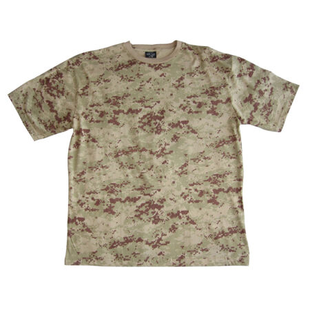 img-US Army Digital Desert Camouflage T-Shirt - 100% Cotton Army Military Top New