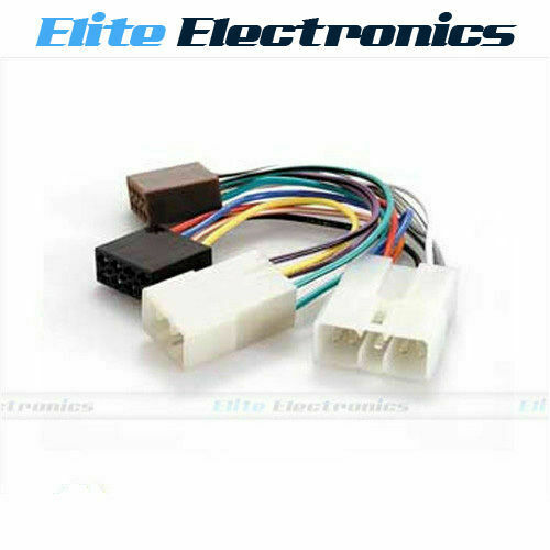 Wiring Harness Toyota Hilux : Iso wiring harness plug lead wire loom connector radio for