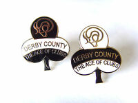 Derby County Ace of Clubs small pin badge - football badge