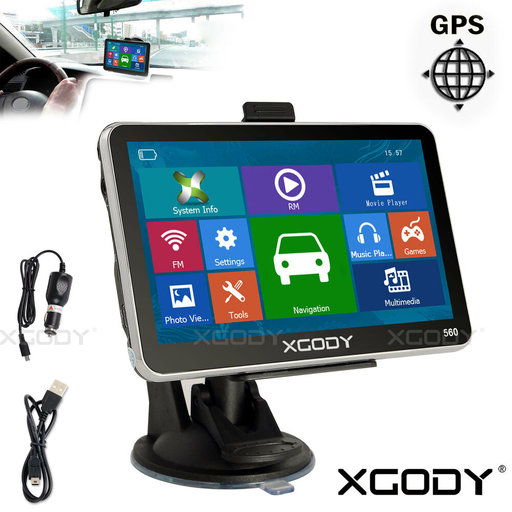 xgody 5 car gps navigation touch screen 4gb sat nav with. Black Bedroom Furniture Sets. Home Design Ideas