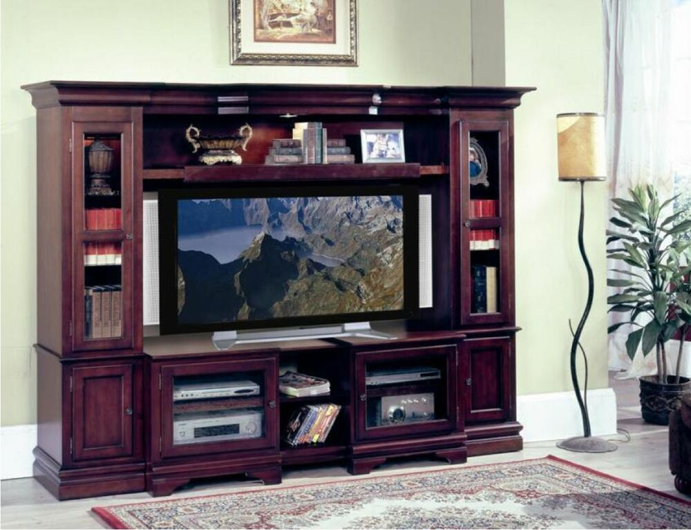 Ridgeline Flat Panel TV Wall Unit Entertainment Center