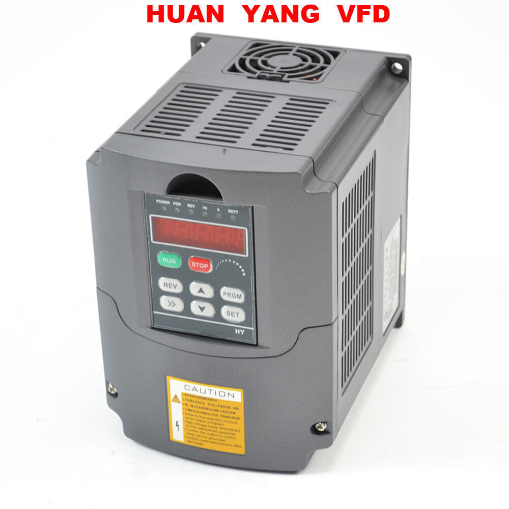 110v Variable Frequency Drive Inverter Vfd 1 5kw 2hp 13a