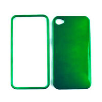 Green Snap On Phone Cover For Apple iPhone 4 4S Hard Case Faceplate Accessory