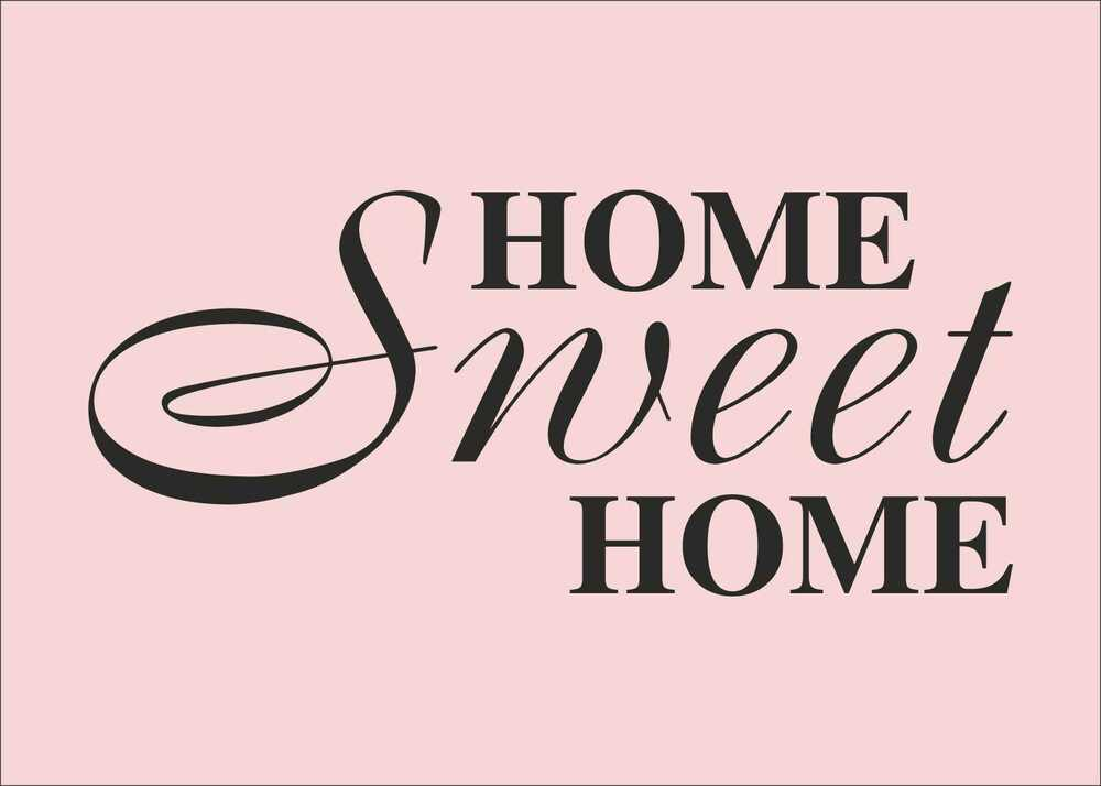 Home sweet home quotes decal sticker vinyl wall art home for Home sweet home quotes