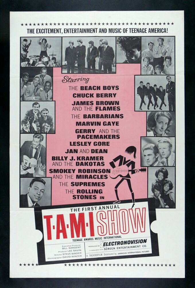 Tami Show Cinemasterpieces T A M I Teen Rolling Stones
