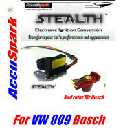 VW,Beetle,Camper,Stealth electronic ignition for Bosch 009 Distributor/Red Rotor
