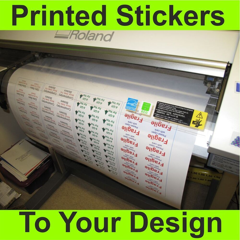 Vinyl Stickers Custom Printed To Your Design Signs Decals