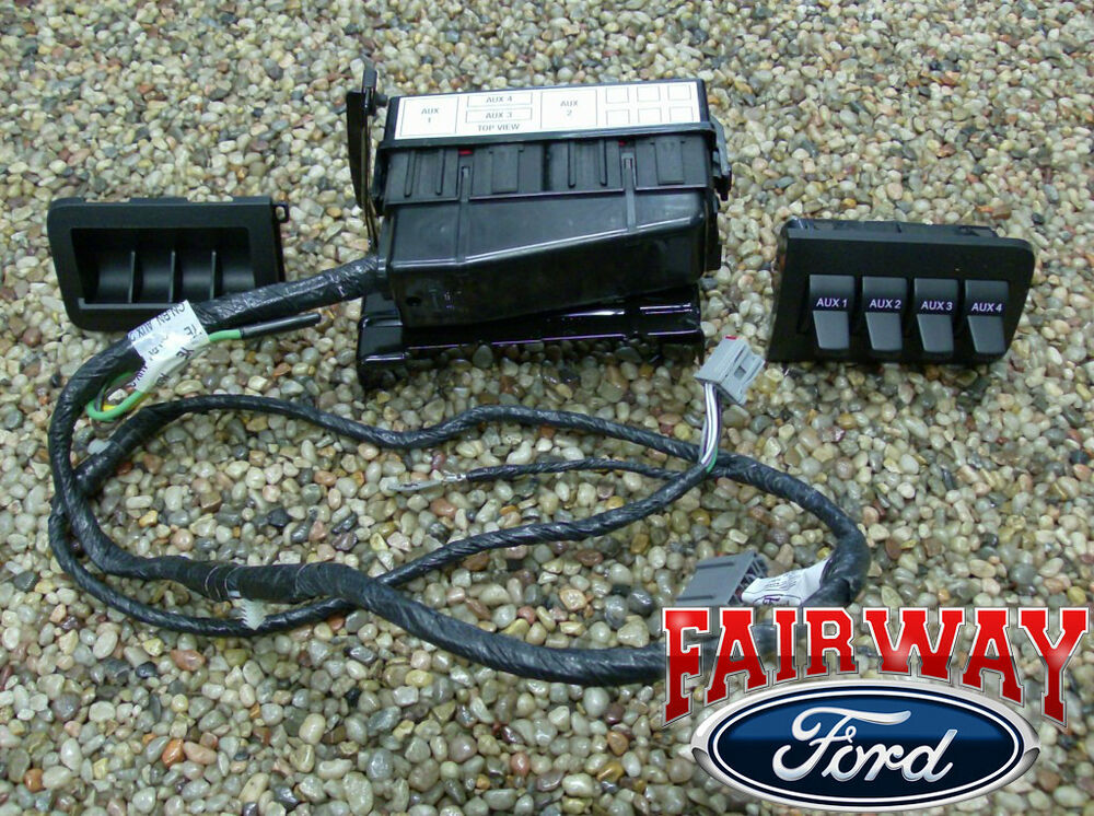 2008 2009 super duty f250 f350 f450 f550 oem ford in-dash ... 1972 ford f 250 wiper switch wiring diagram 06 ford f 250 factory switch wiring