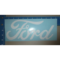 FORD LOGO VINYL STICKER CHOOSE YOUR OWN SIZE