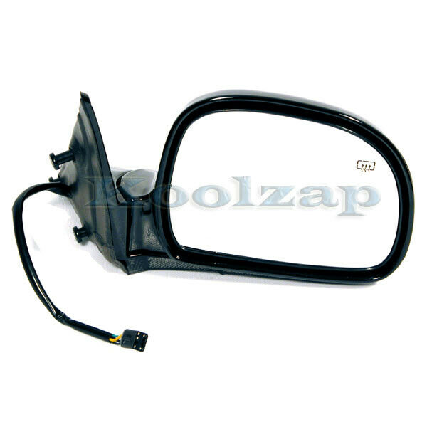 98 chevy s10 pickup truck power heated rear view mirror right passenger side rh ebay. Black Bedroom Furniture Sets. Home Design Ideas