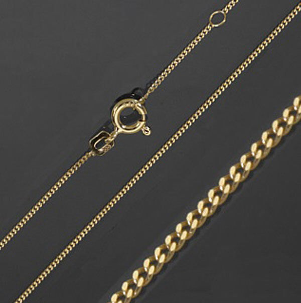 echt gold kette 333 38 40 cm 0 22 goldkette schmuck neu ebay echt goldschmuck ebay. Black Bedroom Furniture Sets. Home Design Ideas