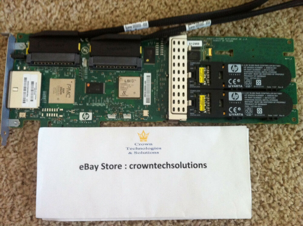 hp 381513 b21 398647 001 501575 001 smart array p800 raid controller w 512mb 4948382472113 ebay. Black Bedroom Furniture Sets. Home Design Ideas