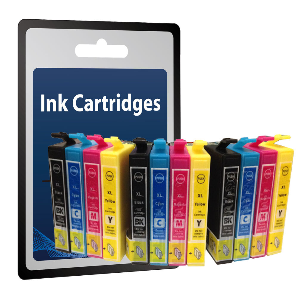12 ink cartridge for epson stylus s22 sx125 sx130 sx425w sx445w sx438w printer ebay. Black Bedroom Furniture Sets. Home Design Ideas