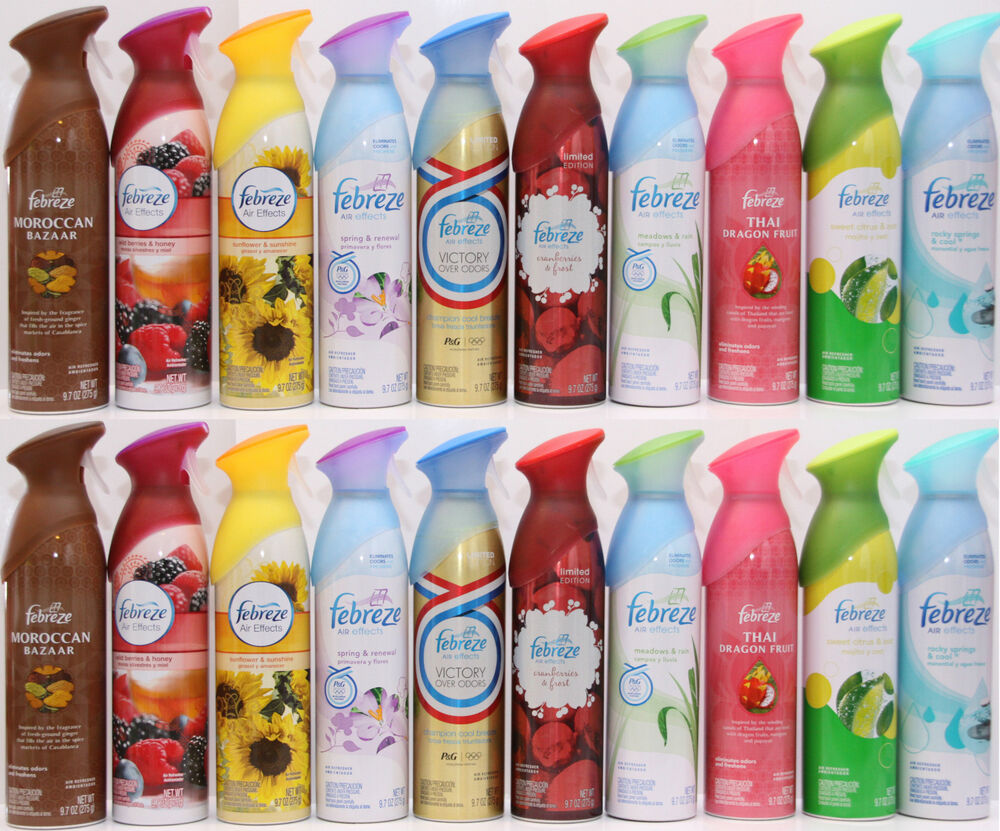 Febreze air effects scented spray selected fragrance mist for What is the best air freshener for your home