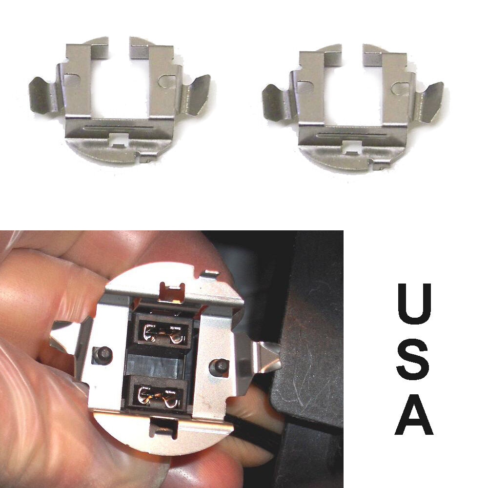 H7 Hid Xenon Bulb Base Retainer Adapter Holder Clip For