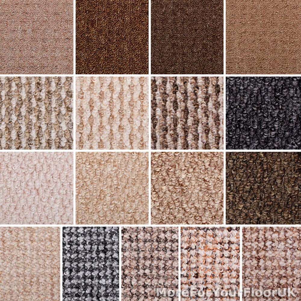 Carpet sale modern berber loop hardwearing feltback for Cheap wall to wall carpet