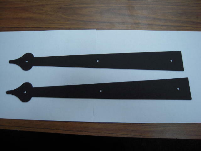 Garage Door Parts Decorative Hinge Straps Ebay