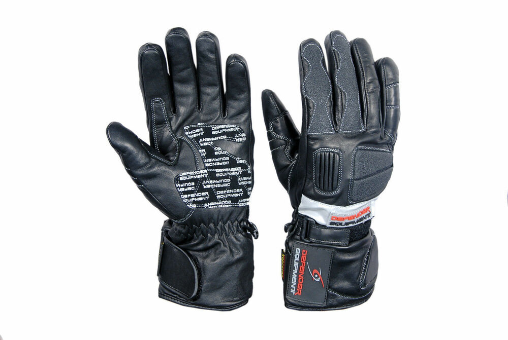 Victor Motorcycle Leather Winter Gloves Motorbike
