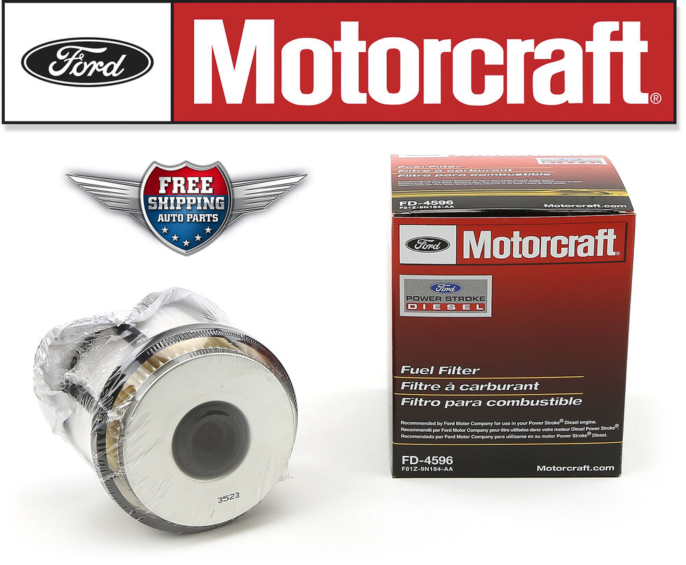73 fuel filter assembly motorcraft 73 fuel filter motorcraft fd4596 fuel filter 1998-2003 ford 7.3l v8 ... #3